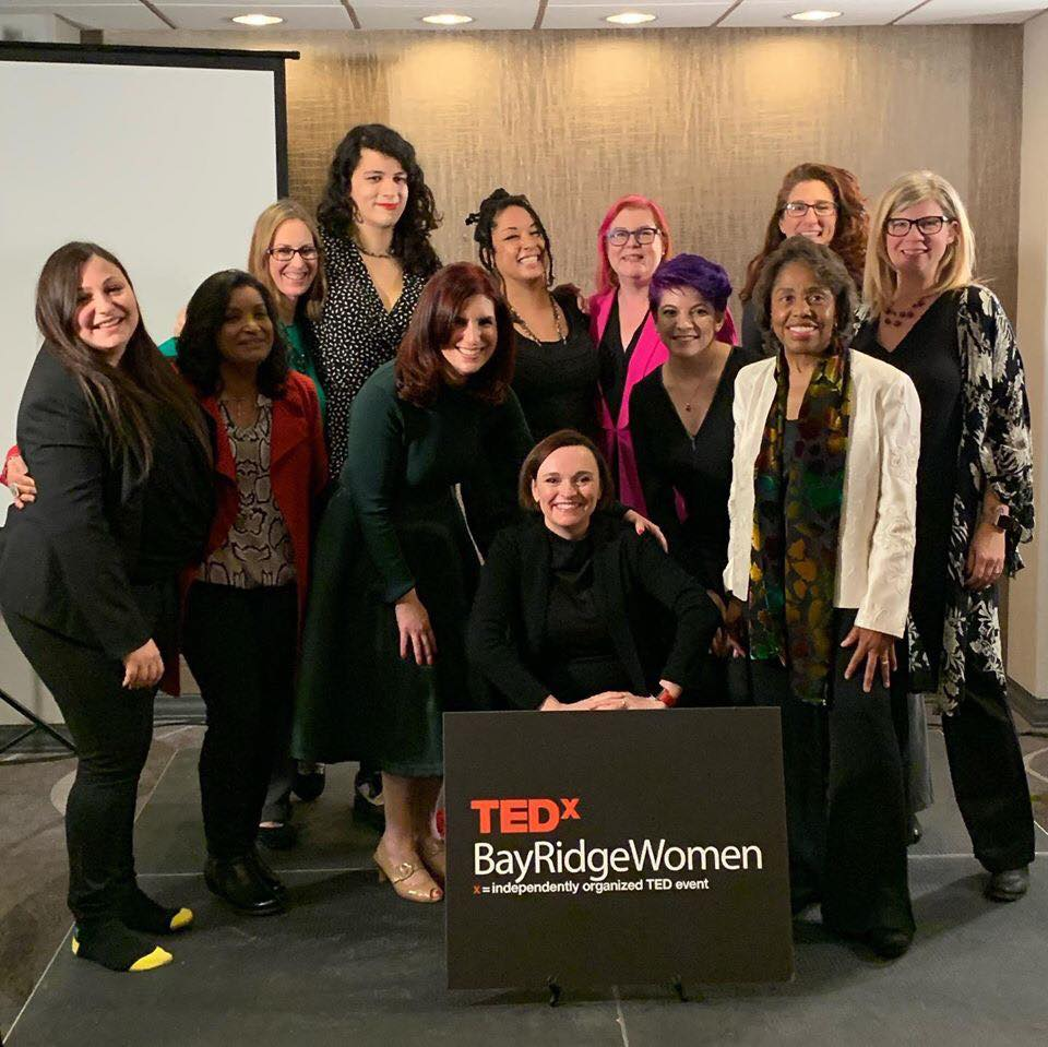 the women who spoke with me at TEDxBayRidgeWomen